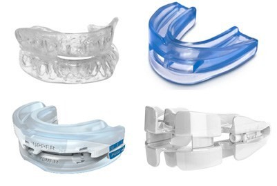 four different kinds of mouth pieces